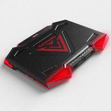 USB Laptop Notebook Cooling Fan Cooler 12-17 Inch 5Fans Led Pad Adjustable Stand