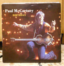 PAUL McCARTNEY - BIRTHDAY - GOOD DAY SUNSHINE - 45 giri nuovo import U.K. 1990