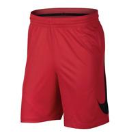 Nike Shorts Mens Large Genuine Red Dri Fit HBR 9 Inch Basketball Gym Training