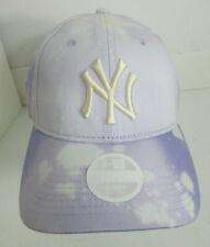 New York Yankees Hat Women Factory Art Bleached Strapback New Era MLB Cap