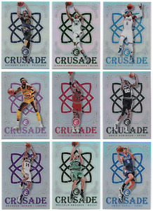2016-17 Panini Excalibur Crusade Silver Pick Any Complete Your Set