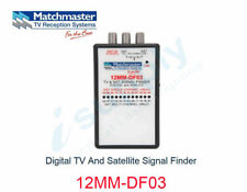 MATCHMASTER 12MM-DF03 DIGITAL TV AND SATELLITE SIGNAL FINDER