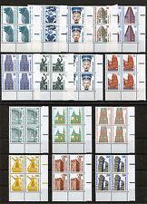 Berlin Sehenswürdigkeiten postfrisch Eckrand Viererblock SWK VB Mi.165,00 € MNH