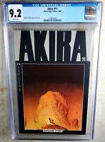 Akira #11 NEWSSTAND Marvel/Epic Comics 1989 CGC 9.2 NM- White Pages Comic K0157