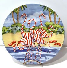So Fun - Coastal Christmas 8 3/8 Inch Salad Plate by Sakura, Paul Brent 4 avail.