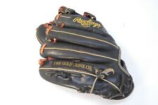 """Rawlings Heart of the Hide PRO200-9JB 11.5"""" Gold Glove Rt-Hand Throw Red Lace"""