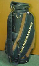 "Burton Blue/Brown Southwest Airlines 10"" OD Golf Staff Bag w/ Raincover"