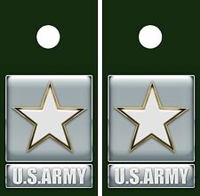 C61 Army Cornhole Board Wrap LAMINATED Wraps Decals Vinyl Sticker