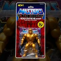 Masters of the Universe Vintage Collection Action Figure Gold He-Man Super7