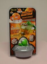 Toysmith Melting Martian From Space Toy Putty & Body Parts In flying UFO Saucer