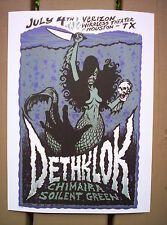 DETHKLOK Metalocalypse Adult Swim Heavy Metal Rock Concert mini Poster