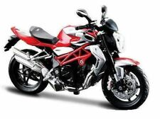 2012 Agusta Brutale 1090 RR Red Silver Motorcycle 1/12 by Maisto 31101