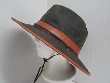 New M Dorfman Pacific Weathered Cotton Outback Hat UPF50+ water resistant