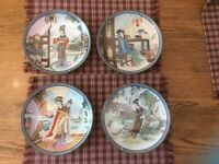 Imperial Jingdezhen Porcelain Collector Plate dated 1988/1986