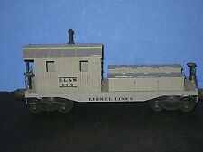 1956 Lionel #6419 LL-  DL&W Work caboose (Wrecker car).Gray, Bar end trucks C-7