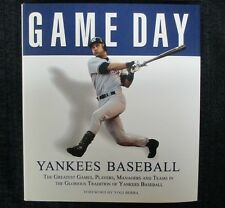 New York Yankees Game Day Coffee Table Book Babe Ruth Joe DiMaggio Mickey Mantle
