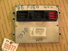 05-06 FORD F-150 4.2L AT CALIF ECU ECM  COMPUTER NUMBER 5L3A-12A650-ALE