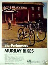 1972 Murray Bicycles 10, 5, 3-Speed Boys~Kids Bikes Star Performers BMA / 6 AD