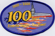 100 Years Submarine Centennial - New Low Price!! -  BC Patch - Cat No C5163