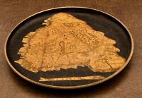 Vintage Made in Hungary Map Plate