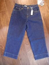 WOMENS JONES SPORT STRETCH CAPRI Sz 4 10.5 RISE CROP STRETCH JEAN 28X22 NWT CB29