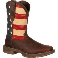 Rebel ™ por Durango ® Patriótico tirar-en bota de bandera occidental