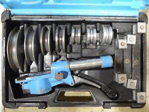 JAVAC HB85 Hydraulic Bender