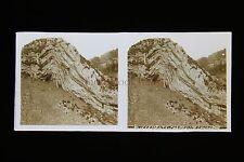 Chapeau de Gendarme Haut Jura France Plaque stéréo pos. vers 1920