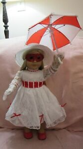 Mary Poppins Costume fits American Girl Doll 18 Inch Clothes Seller lsful