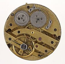 J M BADOLLET & CIE GENEVE SWISS CYLINDER POCKETWATCH MOVEMENT SPARES R249