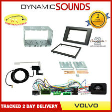 CT23VL03 DAB RADIO Double Din Stereo Fascia Fitting Kit for Volvo XC90 2004-2014