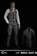 ASMUS TOYS 1/4 Scale Gentleman Boss Suit Man Clothes Costume F/ Male Figure Body