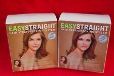 LOT OF (2) haine munoz easy straight hair straightening system