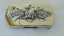 USN US NAVY USS SHIP SHORE AIR CREWMAN SEABEE RATE SPECIALTY BELT BUCKLE