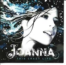 This Crazy Life by Joanna 2006 Geffen Records CD rock pop