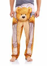 Teddy Bear Free Ride Men's Jersey Sleep Lounge Pants  XXLARGE