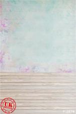 Soft Blu Baby Pastello CARINA Sfondo Fondale Vinile Foto di scena 5X7FT 150x220CM