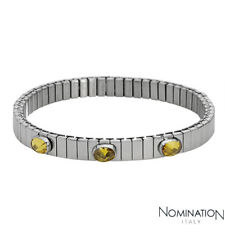 NOMINATION ITALY Made in Italy Three-stone Bracelet With 3.00ctw CZ in StSl