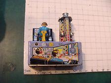 Vintage battery operated JUPITER T.N tin Japan - ROCKET LAUNCH