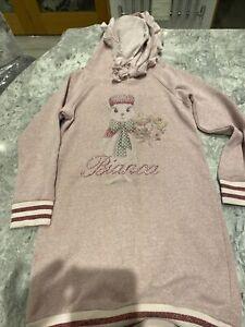 Bianca Pink Monnalisa Jumper Dress 9 Years