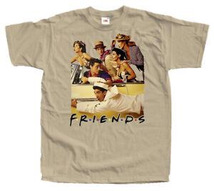 Friends V3 Ross Joe Rachel Monica TV Series 1994 poster T Shirt All sizes S-5XL