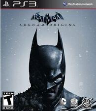BATMAN: ARKHAM ORIGINS Game SONY PLAYSTATION 3 PS3 *BRAND NEW SEALED* WHV WB
