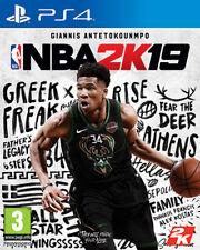 NBA 2K19 (Basket 2019) PS4 Playstation 4 TAKE TWO INTERACTIVE