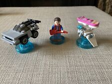Lego Dimensions Back To The Future Marty Delorean Level Pack