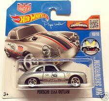 Hot Wheels Porsche 356A Outlaw - silver