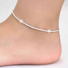 Star Women Anklets Chains Bracelet Hj01 Sexy 925 Silver Noble Simple Shinning