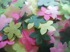 2000 Pink Green Tissue Flowers/Wedding ConfettiParty/Celebration/ Decoration