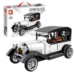 Sembo 607403 Famous Classic Vintage Car interlocking Building Blocks Set 264+pcs