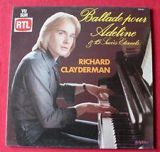 Richard Clayderman, ballade pour Adeline & 15 succés eternels, LP - 33 Tours