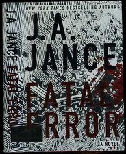 Jance, JA: (Ali #6) Fatal Error **Signed** HB/DJ 1st/2nd (2011)